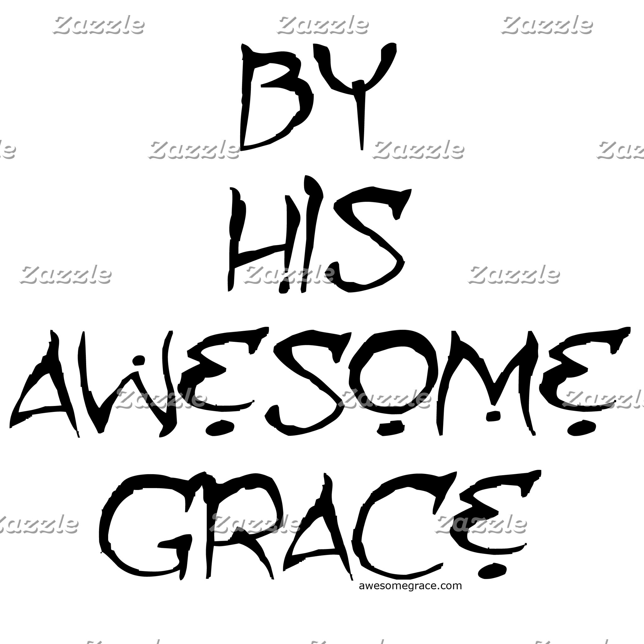 By His Awesome Grace