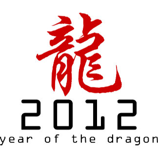 2012 Chinese New Year of The Dragon T-Shirts