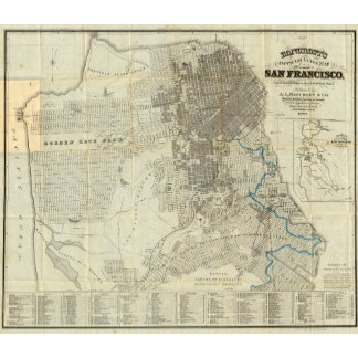 Bancroft's Official San Francisco City Map