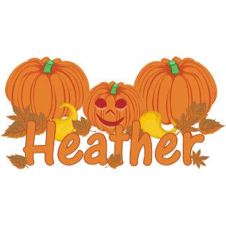 Pumpkin Heather Personalized Halloween