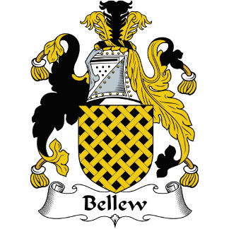 Bellew Family Crest / Coat of Arms