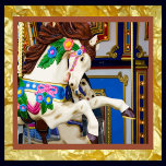 Carousel Horse_gold foil bkgrnd_vectorized_resized