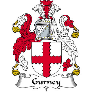 Gurney Family Crest / Coat of Arms