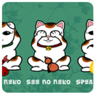 3 Wise and Lucky Neko