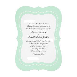 Mint Green Simple Elegance Wedding Set
