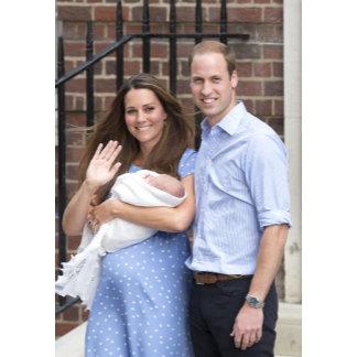 Duke & Duchess Of Cambridge at Lindo Wing
