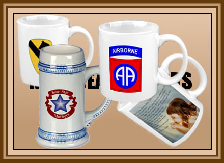 Mugs, Travel Mugs, Frosted and Steins