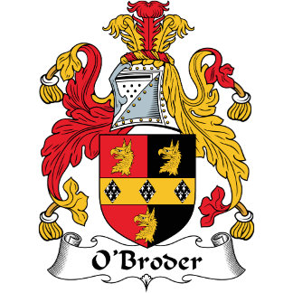O'Broder Coat of Arms