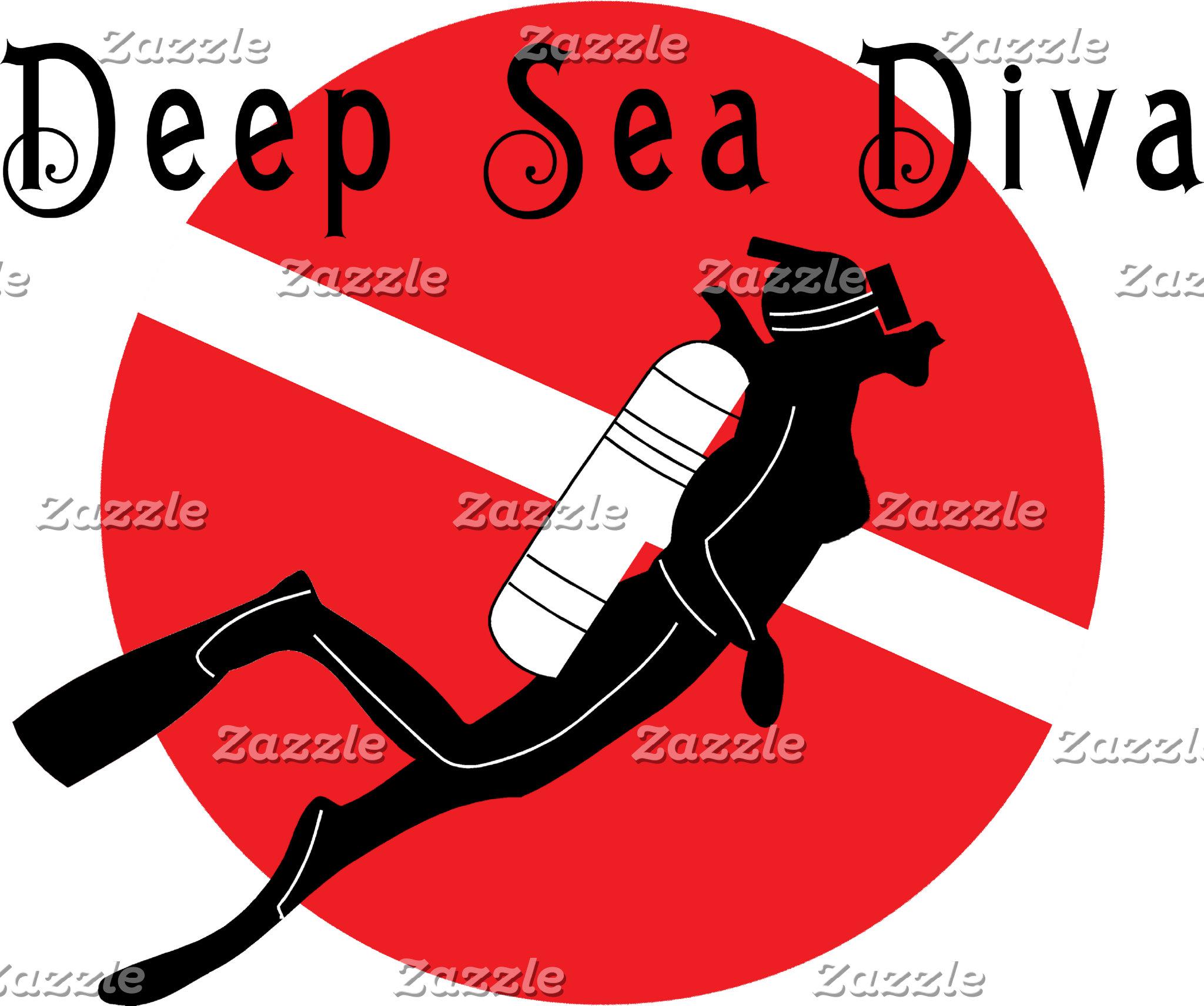 Deep Sea Diva T-Shirt Gifts