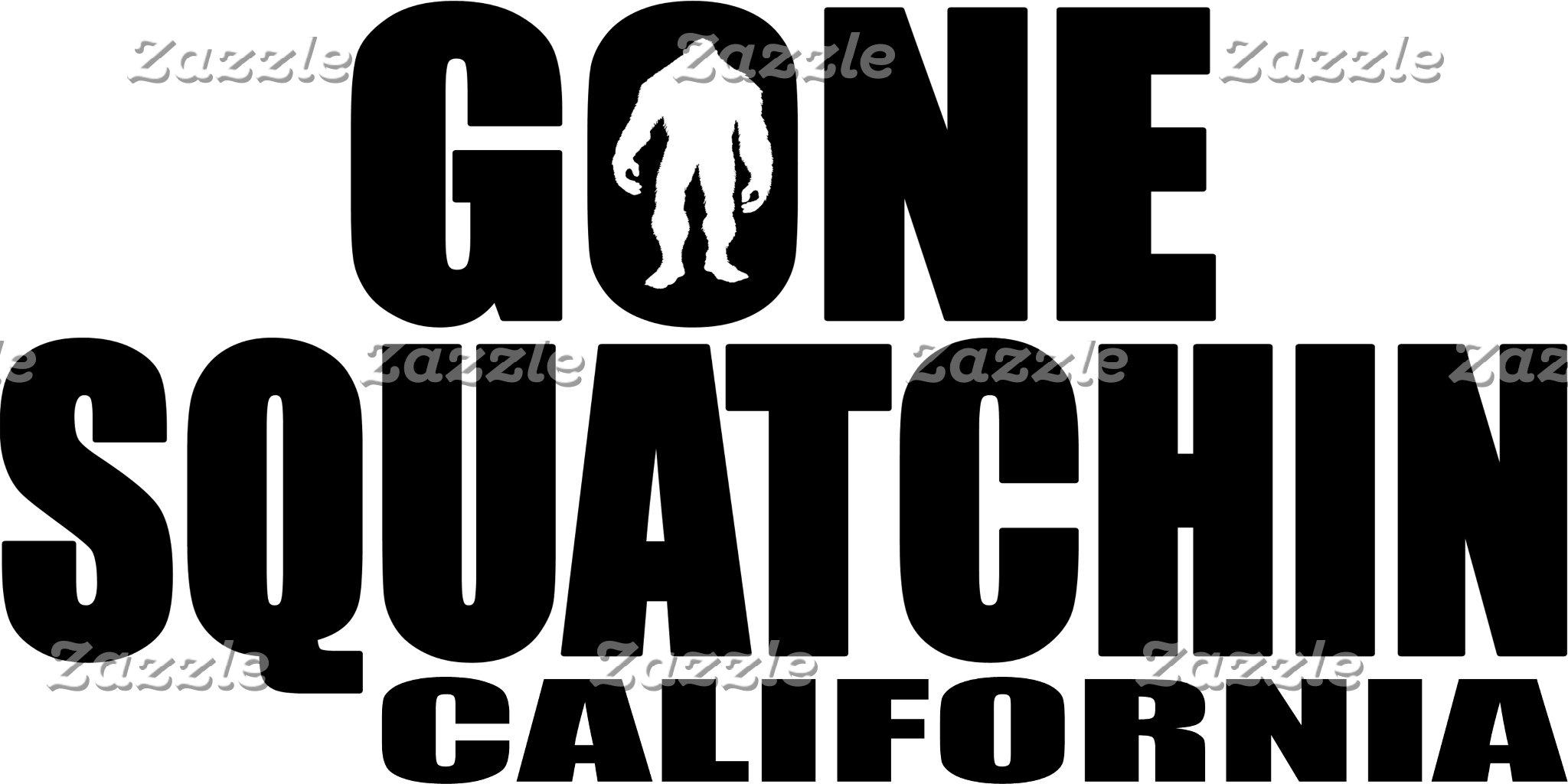 GONE SQUATCHIN - STATE / LOCATION