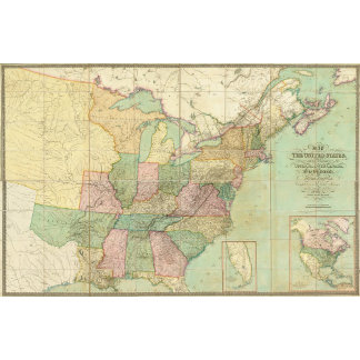 Map of the United States 5