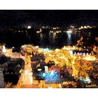 Quebec night view