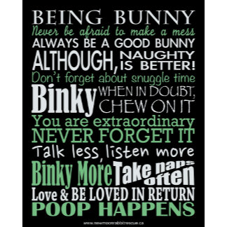"""Being Bunny"" - Bunny's Guide To Happiness"
