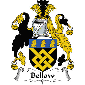 Bellow Family Crest / Coat of Arms