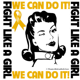 Appendix Cancer - Fight Like A Girl - We Can Do It