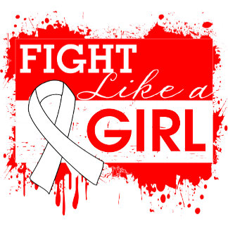 Lung Cancer Splatter Fight Like a Girl