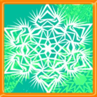 Ice Snowflake Design