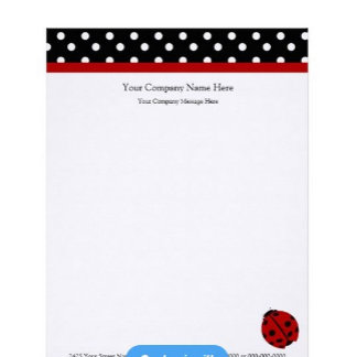 Company and Personal Letterhead