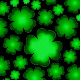 23 Shamrocks Four Leaf Clovers