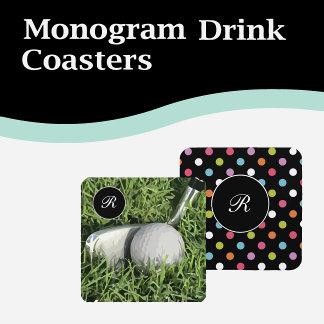 Monogram Coasters