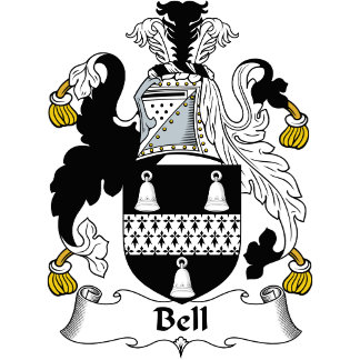 Bell Family Crest / Coat of Arms
