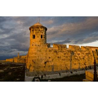 Castillo de San Salvador de La Punta, guarding