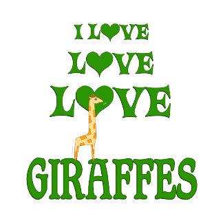 Love Love Giraffes
