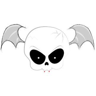 Cute Vampire Skull