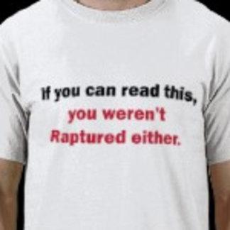 You Weren't Raptured