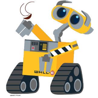 WALL-E Picking Up A Treasure