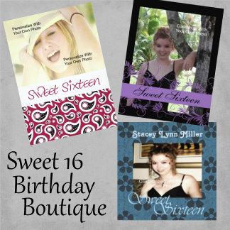 Sweet Sixteen Birthday Boutique