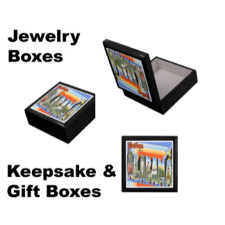 USA State Gift and Jewelry Boxes