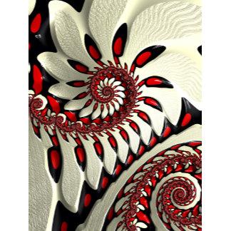 Red & Black Spiral