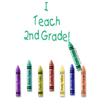 I Teach 2nd Grade!