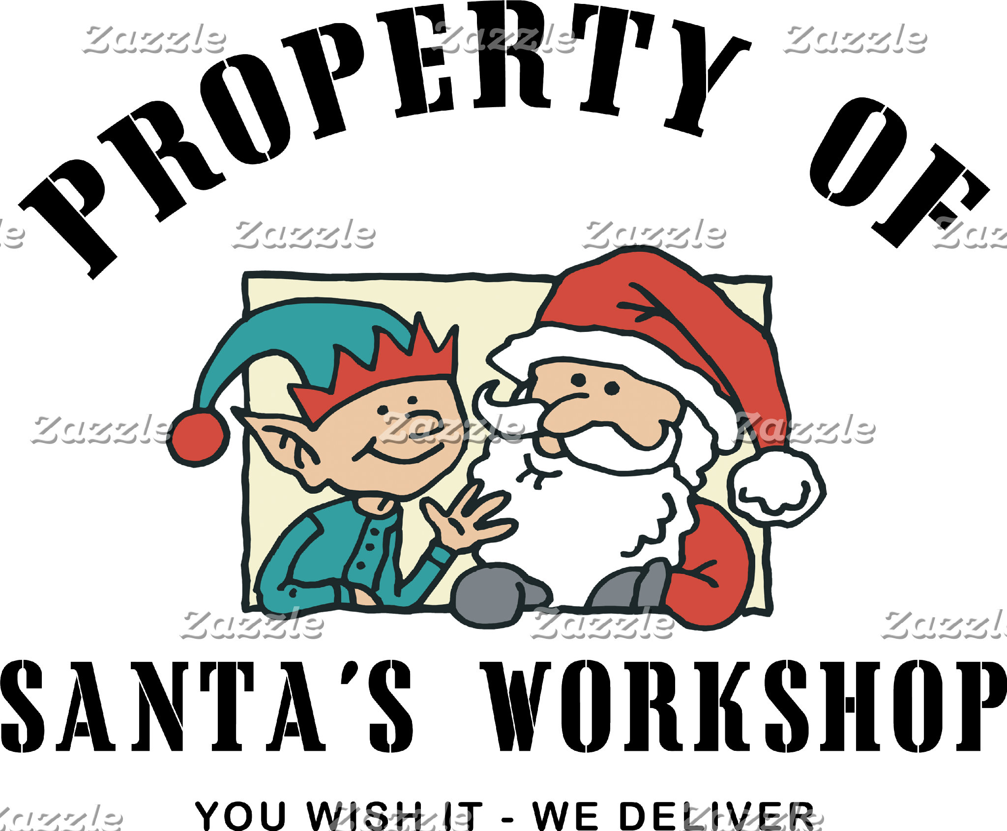 Property Santa's Workshop Sweatshirts T-Shirts