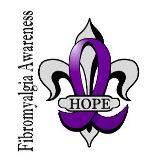 Fleur De Lis Fibromyalgia Hope