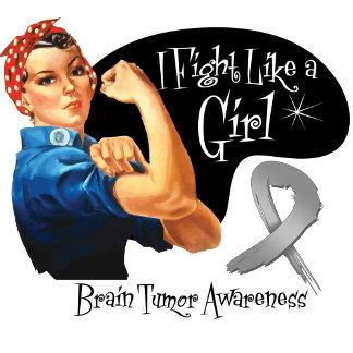 Brain Tumor Fight Like a Girl Rosie The Riveter