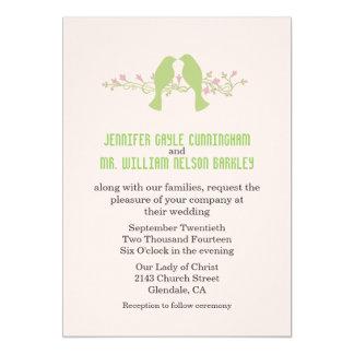 Green Love Birds Wedding Products