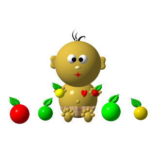06: BABIES WITH 6 APPLES