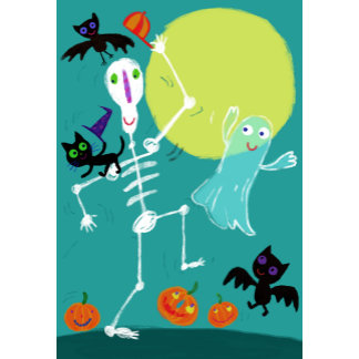 Halloween Marching Skeleton and Friends