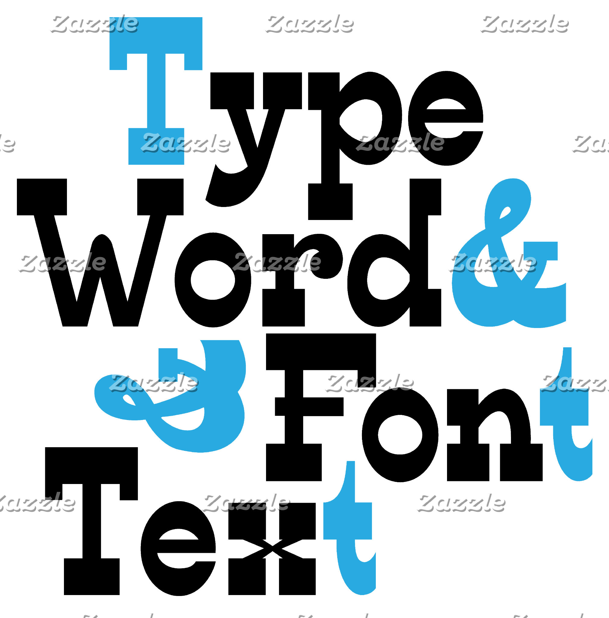 Typography and word art
