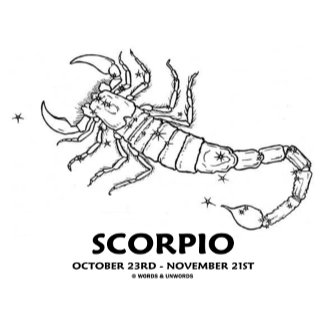 Scorpio (October 23rd - November 21st)