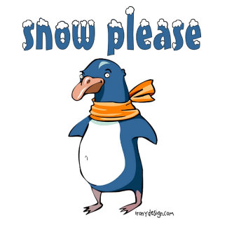 Snow Please Penguin Gifts