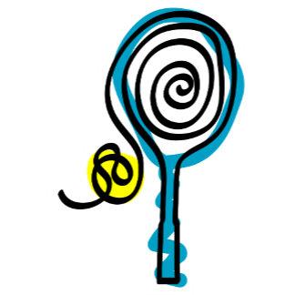 Tennis Spiral