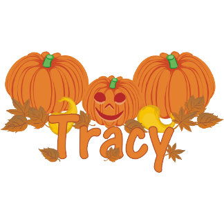 Pumpkin Tracy Personalized Halloween