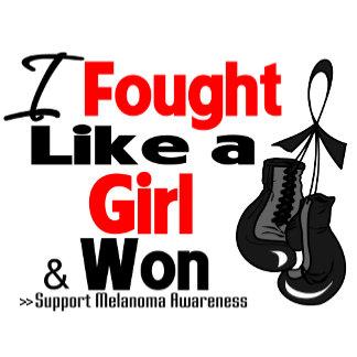 Melanoma Cancer I Fought Like a Girl and Won