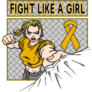 Appendix Cancer Fight Like A Girl Punch