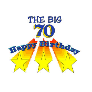 Happy Birthday 70-year-old
