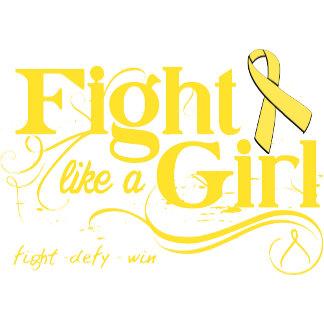 Bladder Cancer Fight Like A Girl Elegant