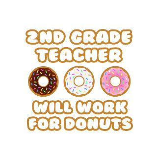 2nd Grade Teacher .. Will Work For Donuts
